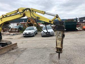 Atlas Copco Abbruchhammer 300 KG Trägergewichtsklasse: 4,5- 9 Tonnen Eigengewicht: Ca. 300 Kg